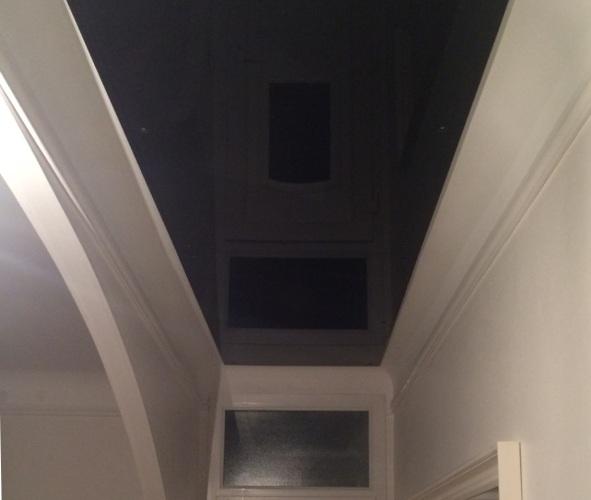 Plafonds lumineux puits de lumi re macocco verres doubles for Plafond peint en noir