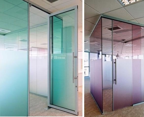 Cloisons fixes portes macocco verres doubles vitrages for Couleur portes interieures