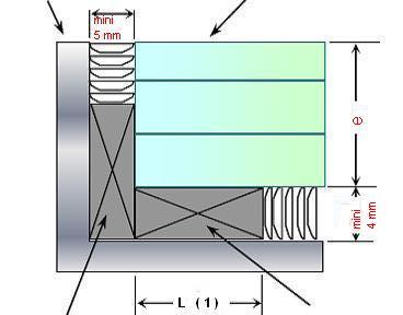 Pose des dalles de plancher macocco verres doubles vitrages for Prix dalles de sol en verre