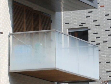Garde corps pour balcons macocco verres doubles vitrages isolants - Prix du verre trempe ...