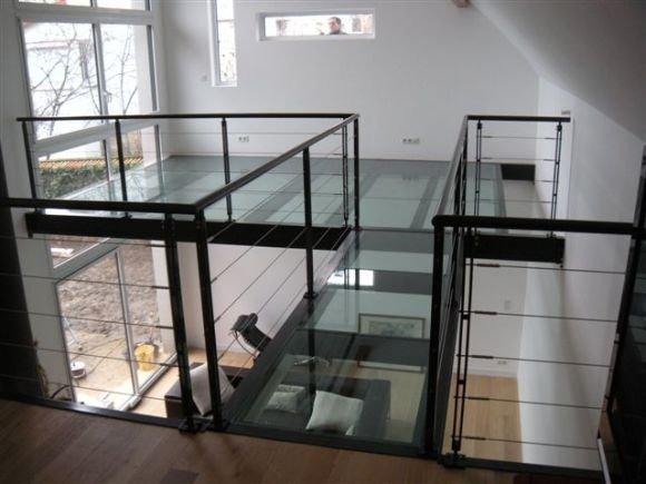 Dalles de sol macocco verres doubles vitrages isolants - La maison de la mezzanine ...