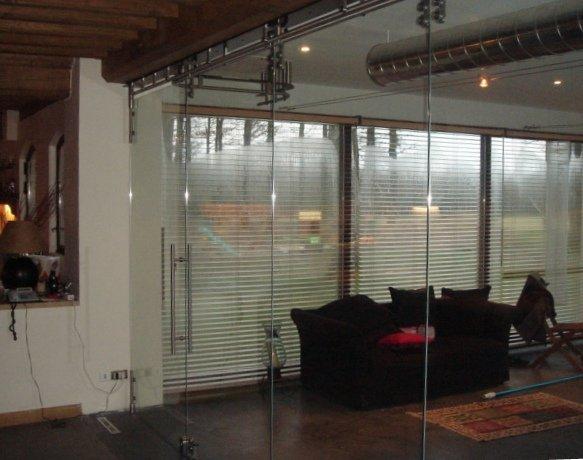 Pareti Di Vetro Scorrevoli : Pareti divisorie mobili macocco vetro vetrate isolanti