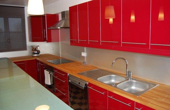 Cr dences rev tement mural macocco verres doubles - Credence miroir pour cuisine ...