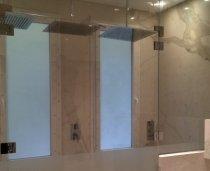 Cabine box doccia macocco vetro vetrate isolanti sicurezza - Doccia all italiana ...